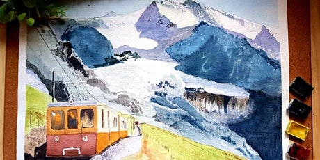 Watercolour Painting  Course - Intermediate Online from Sep 12 tickets