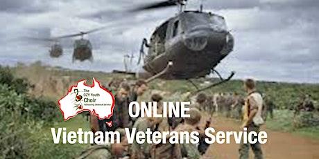 Vietnam Vets ONLINE Commemorative Service tickets