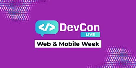 DevCon LIVE - Web & Mobile Week tickets