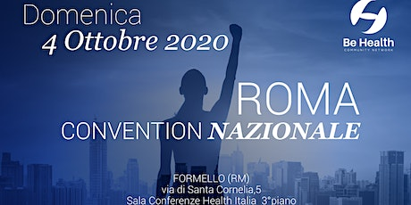 Convention Be Health 4 ottobre tickets