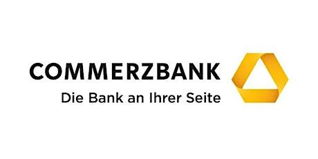 COMMERBZANK AG: Beratungsgespräch FINANZIERUNG Existenzgründung tickets