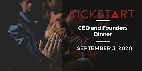 CEOs meet Founders Dinner tickets