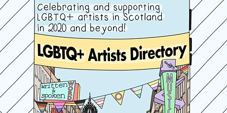 LGBTQ+ Artists Directory for Scotland - Free listing for LGBTQ+ artists tickets