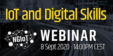 NGIoT Webinar: IoT and Digital Skills tickets