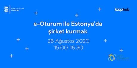 e-Oturum ile Estonya'da şirket kurmak tickets