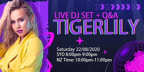 Bigo Live DJ Set featuring Tigerlily tickets