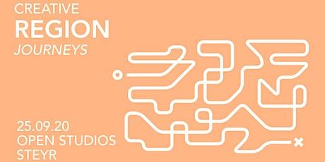 CREATIVE REGION JOURNEY SPECIAL: OPEN STUDIOS STEYR Tickets