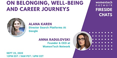 On Belonging, Well-Being & Career Journeys tickets