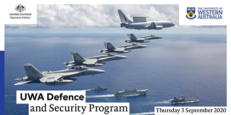 Defence and Security Program Inaugural Event tickets