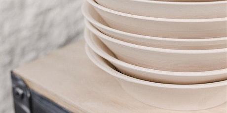 Journée de Modelage pour créer de la vaisselle billets