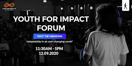YOUTH FOR IMPACT FORUM tickets
