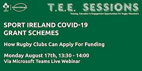 #ReturnToRugby: Sport Ireland COVID-19  Grant Schemes tickets