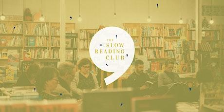 Slow Reading Club Huy billets