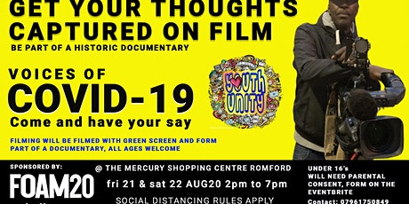 VOICES OF COVID-19 at The Mercury Shopping Mall, Romford tickets