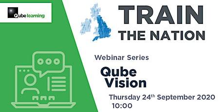Webinar – Qube Vision tickets