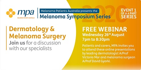 Dermatology and Melanoma Surgery - A discussion with our specialists Tickets