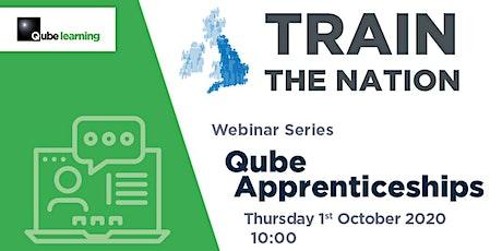 Webinar – Qube Apprenticeships tickets
