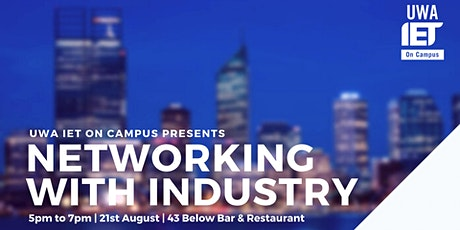 Networking with Industry tickets