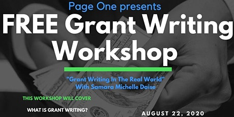 FREE Grant Writing Workshop: Grant Writing in the Real World tickets