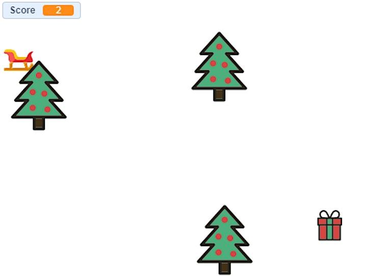 Afbeelding van CoderDojo Joure - Kerstspel maken in Scratch