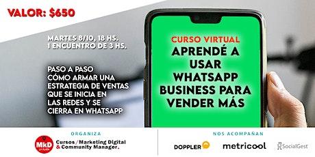 Curso de WhatsApp Business entradas
