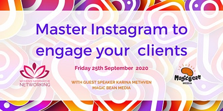 WIN Networking - Master Instagram to engage your clients tickets