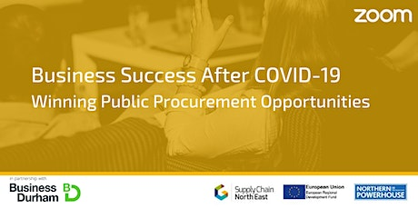 Business Success After COVID-19: Winning Public Procurement Opportunities tickets