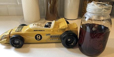 Dusty Series - 1972 Old Mr. Boston Mario Andretti Race Car Decanter tickets