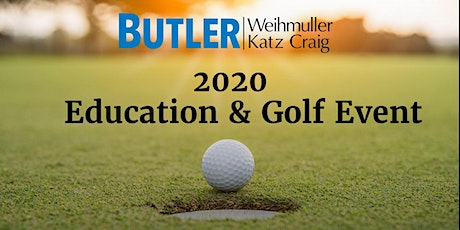 2020 Education & Golf Event tickets