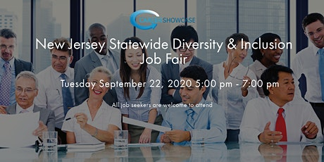 New Jersey Statewide Virtual Job Fair Tues September 22nd 5pm - 7pm tickets