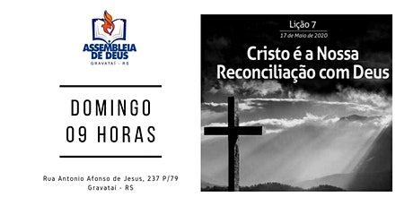 EBD -Escola Bíblica Dominical - Santa Ceia ingressos