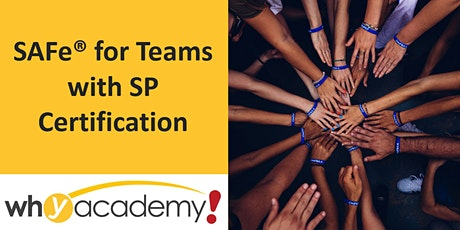 SAFe® for Teams with SP Certification - CN  tickets