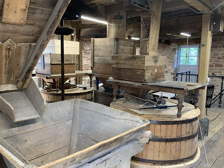 Have a Pizza Lunch at a real working Water Mill image