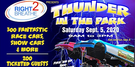 Thunder in the Park tickets