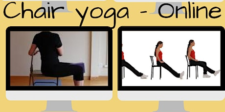 Chair Yoga - Online, live, in-person Course tickets