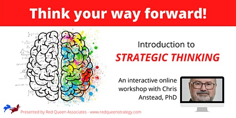 Think your way forward! Introduction to Strategic Thinking tickets