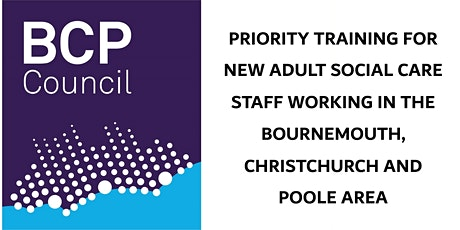 Free priority training for new adult social care staff - redirection page tickets