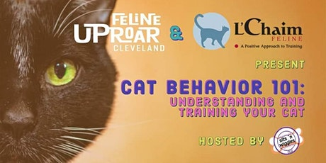 Cat Behavior 101 with L'Chaim Feline - CDC Guidelines Followed tickets