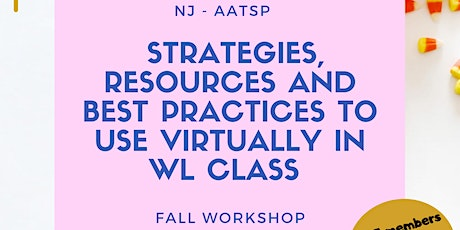Strategies, resources and best practices to use virtually in WL class entradas