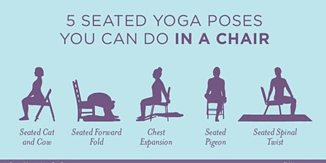 Energizing Chair Yoga - Miramichi, NB tickets