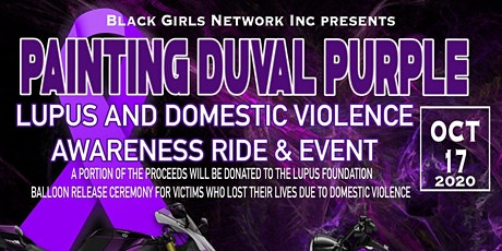 Lupus & Domestic  Violence Awareness Event & Ride tickets