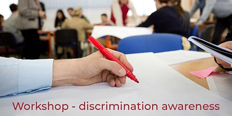 Workshop – Discrimination awareness – 20th October 2021 tickets