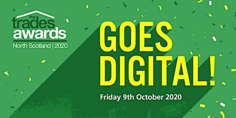 Trades Awards 2020 - digital awards ceremony tickets