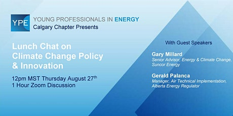Lunch Chat: Climate Change Policy & Innovation tickets