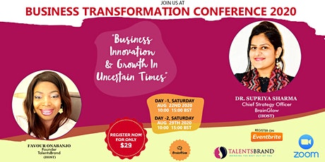 BUSINESS TRANSFORMATION CONFERENCE tickets