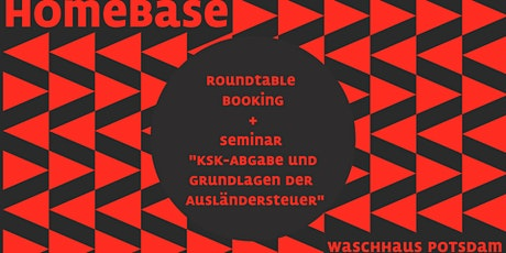 Pre-Programm: HomeBase – Brandenburger Music Showcase Tickets