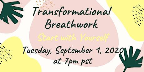 Virtual Pranayama Transformational Breath Class hosted by Kathy Chu tickets