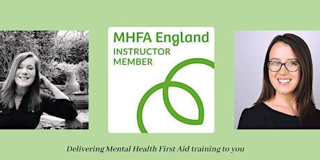 Online Adult Mental Health First Aid training tickets