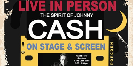 The Spirit of Johnny Cash LIVE on Stage & Screen-Hathaway's Drive-InTheatre tickets
