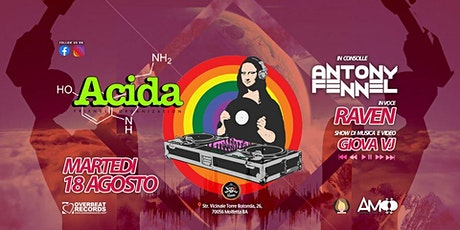 ACIDA - Friendly Party biglietti